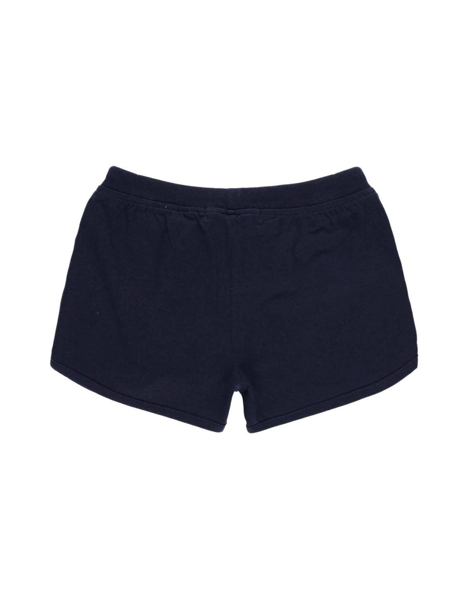 Boboli Knit Shorts, Navy