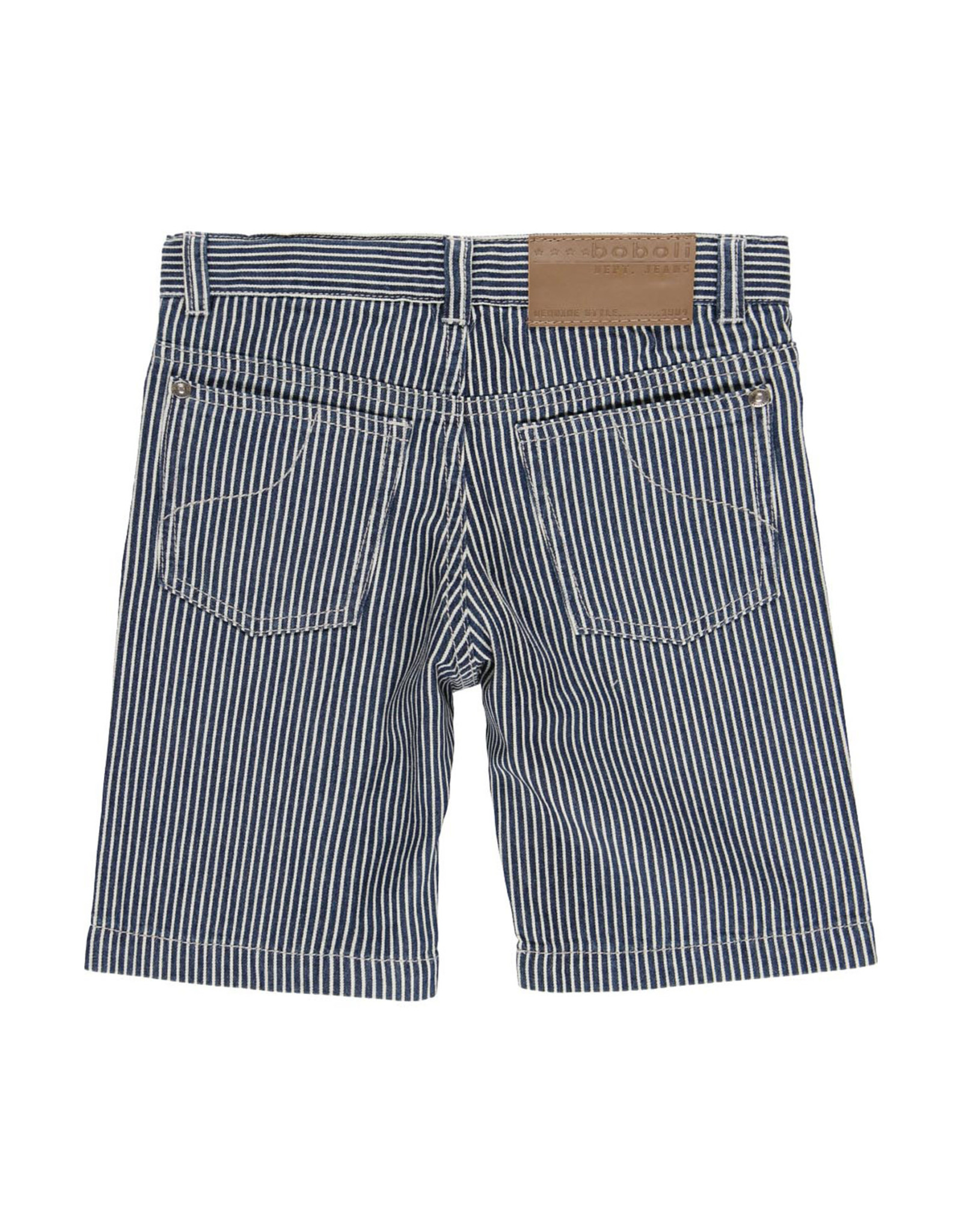 Boboli Striped Bermuda Shorts
