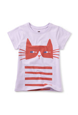 Tea Cat Fish Double Sided Graphic Tee