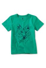 Tea Iberian Wolf Graphic Tee Shirt