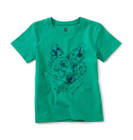 Tea Iberian Wolf Graphic Tee Shirt