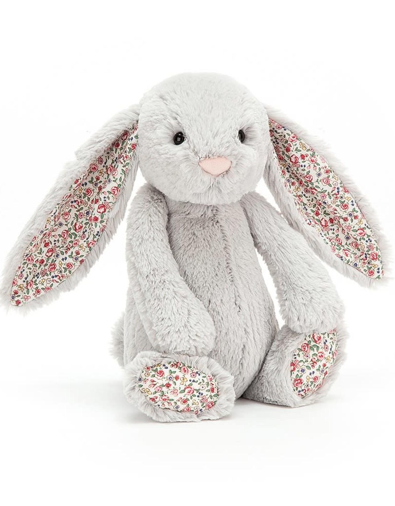 Jellycat Blossom Silver Bunny, Medium