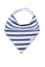 Copper Pearl Bib Alpine - Navy Stripe