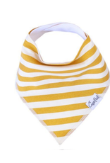Copper Pearl Bib Alpine - Yellow  Stripe