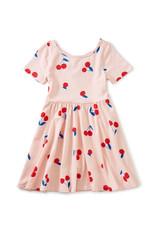 Tea Ballet Skirted Dress,  Ginja Cherry