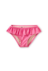 Tea Ruffled Bikini Bottom, Perennial Pink