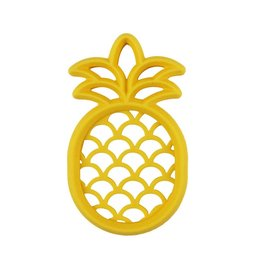 Itzy Ritzy Chew Crew Silicone Pineapple Teether