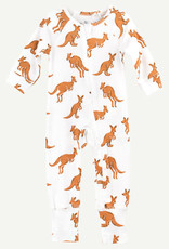 Oliver & Rain Kangaroo Unionsuit, Organic