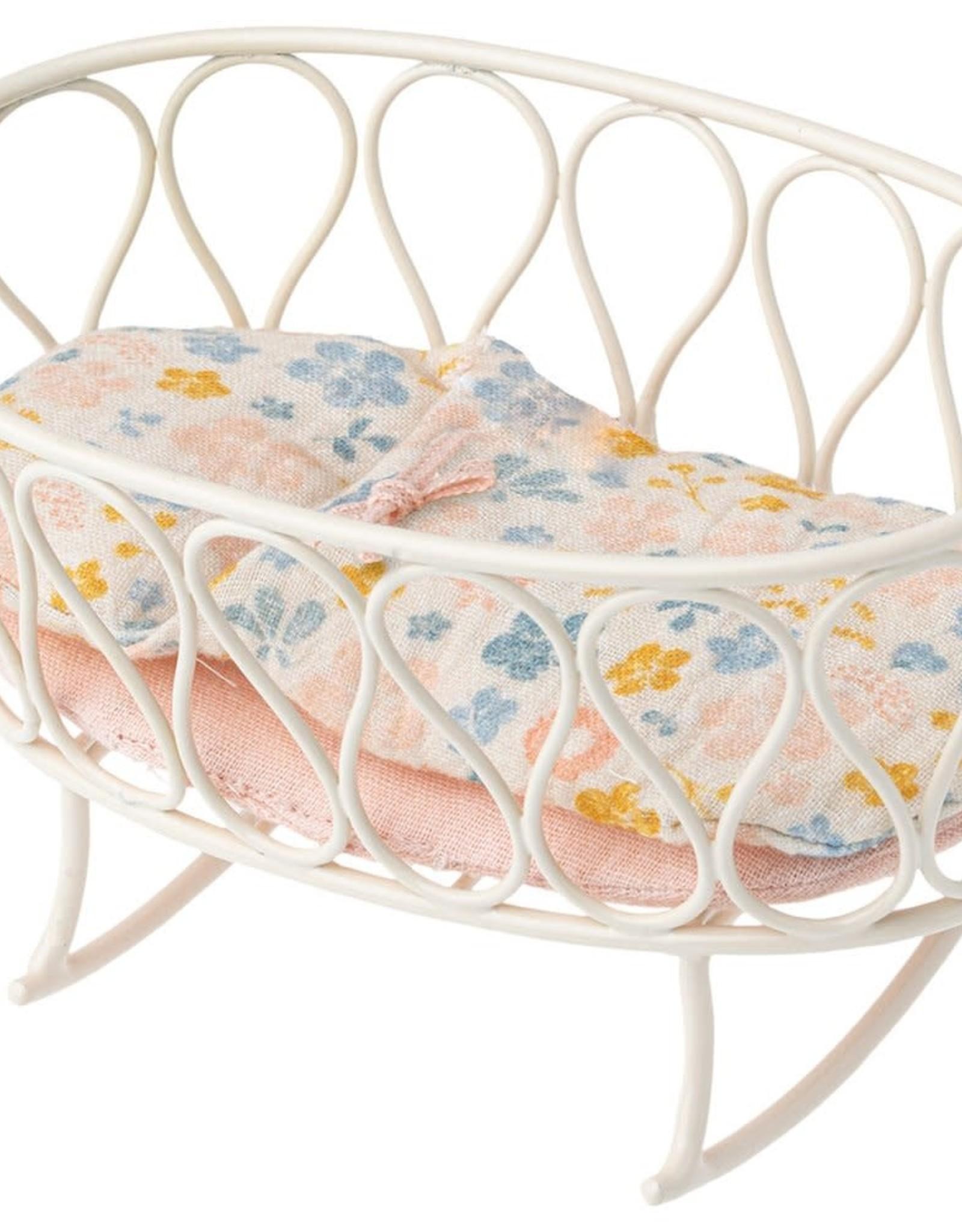 Maileg Cradle with Sleeping Bag, Micro