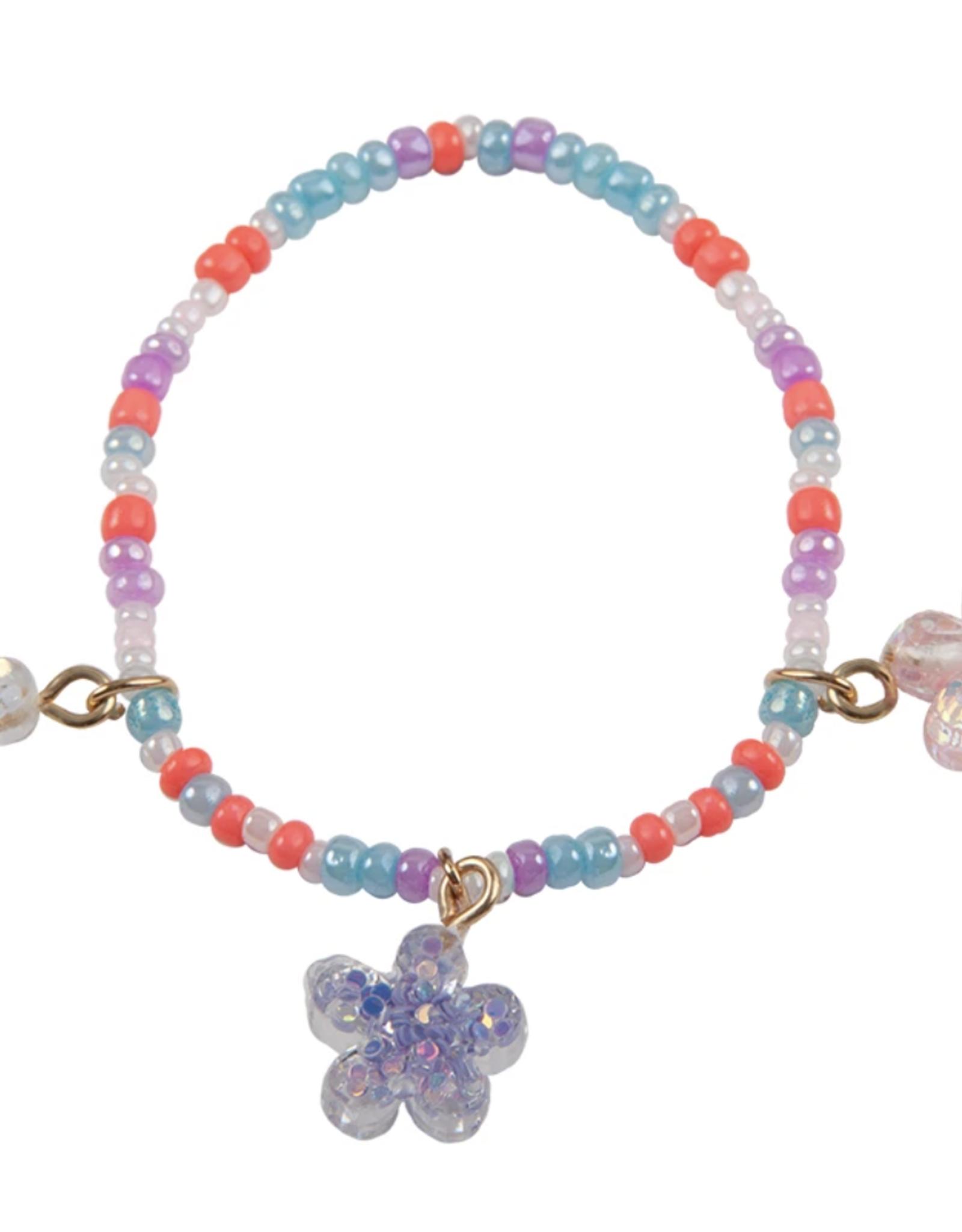 Great Pretenders Shimmer Flower Bracelet