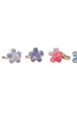 Great Pretenders Shimmer Flower Ring Set, 4pcs