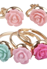 Great Pretenders Rose Ring and Earring Set