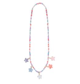 Great Pretenders Shimmer Flower Necklace
