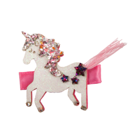 Great Pretenders Tassy Tail Unicorn Hair Clip