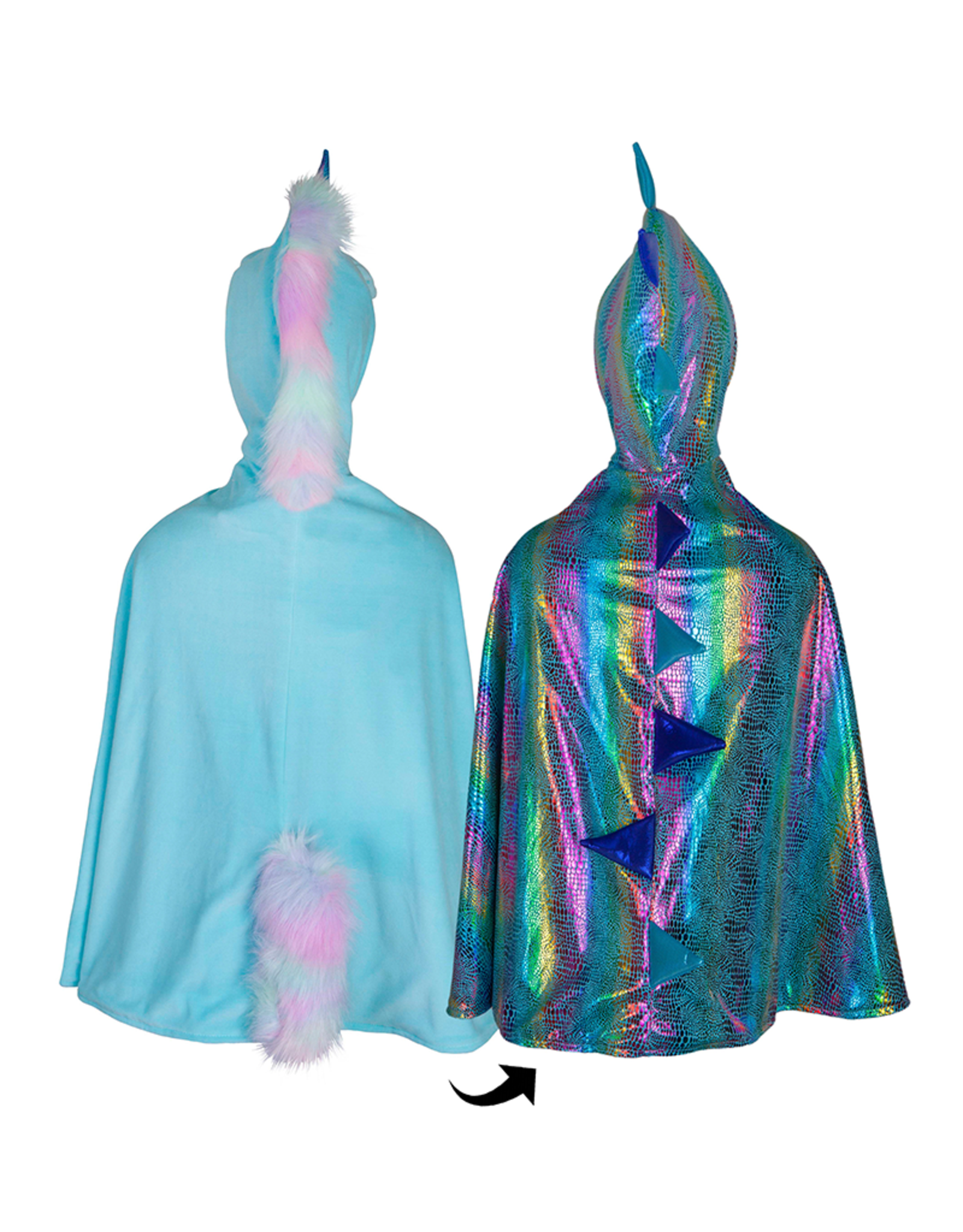Great Pretenders Unicorn/ Dragon Reversible Cape