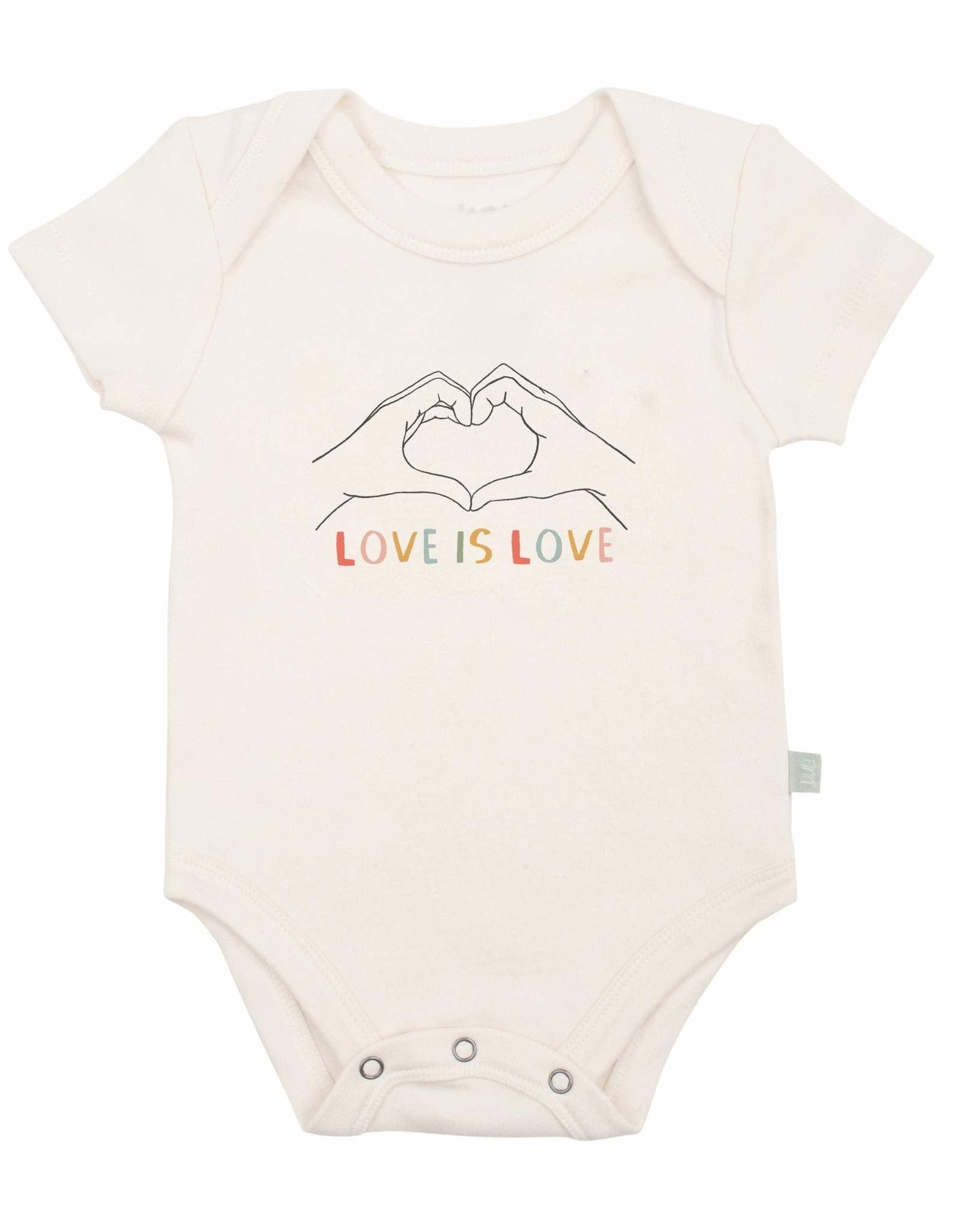 Finn + Emma Love Is Love Bodysuit