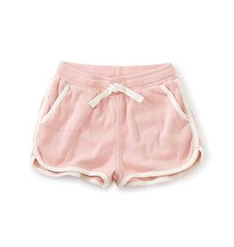 Tea Pipe Detail Tie Waist Shorts, Cherry Blossom