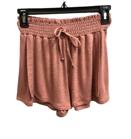 For All Seasons For All Seasons Elastic Waist Shorts, Blush