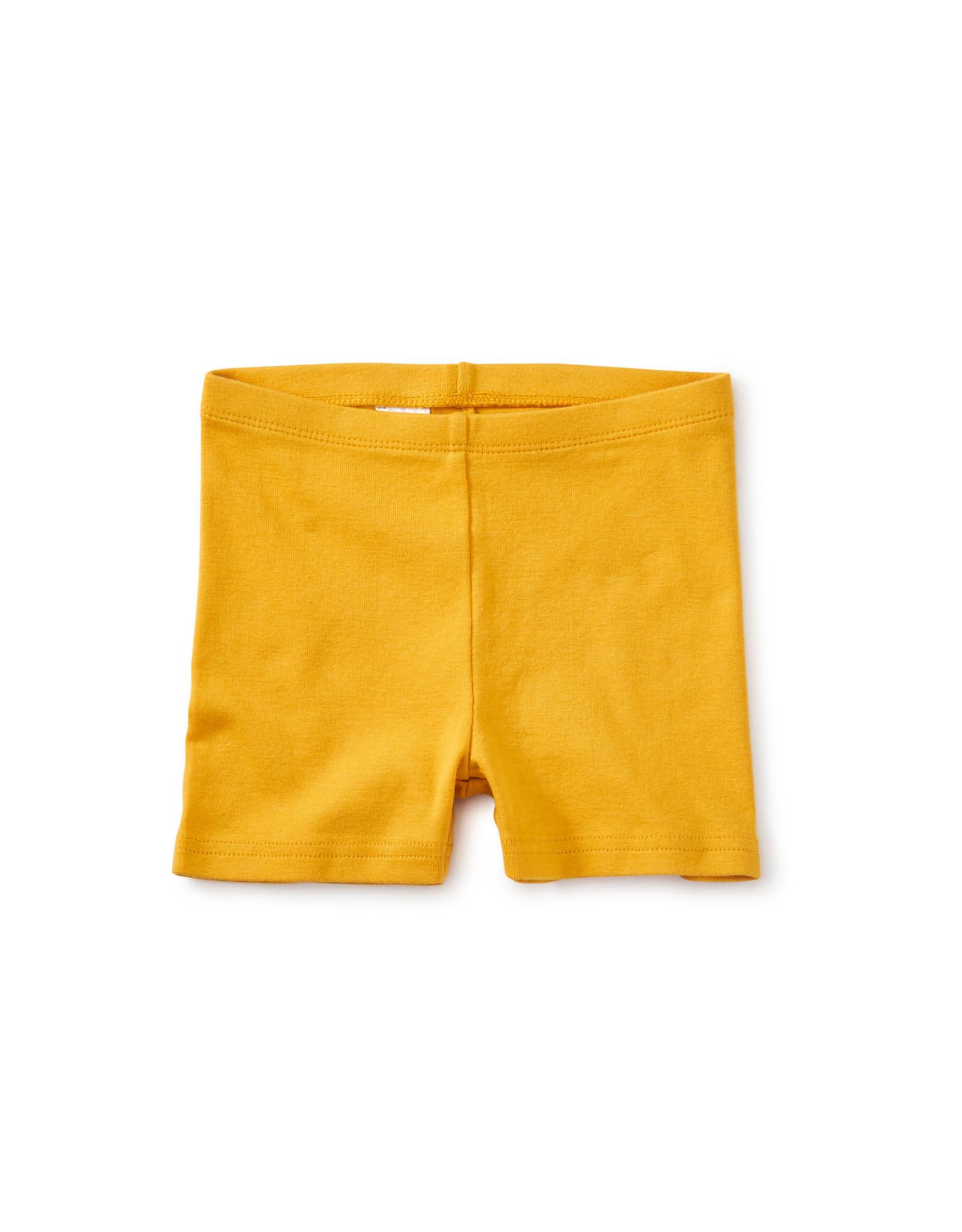 Tea Somersault Shorts, Gold