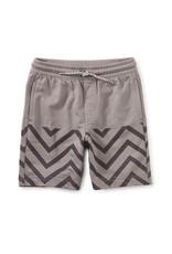 Tea Knit Beach Shorts, Grout