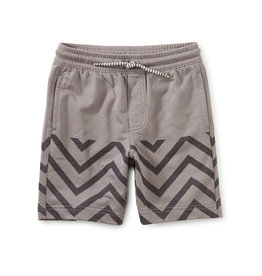 Tea Knit Beach Shorts, Grout