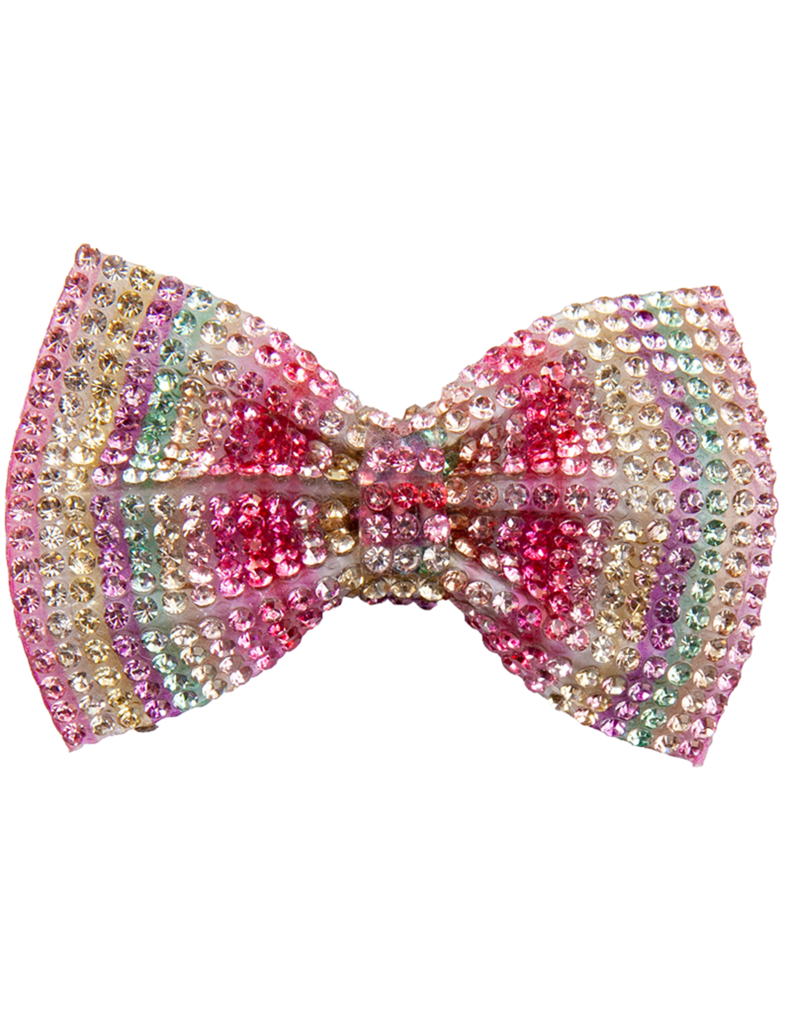 Great Pretenders Gem Bow Hair Clip, Pink Multi