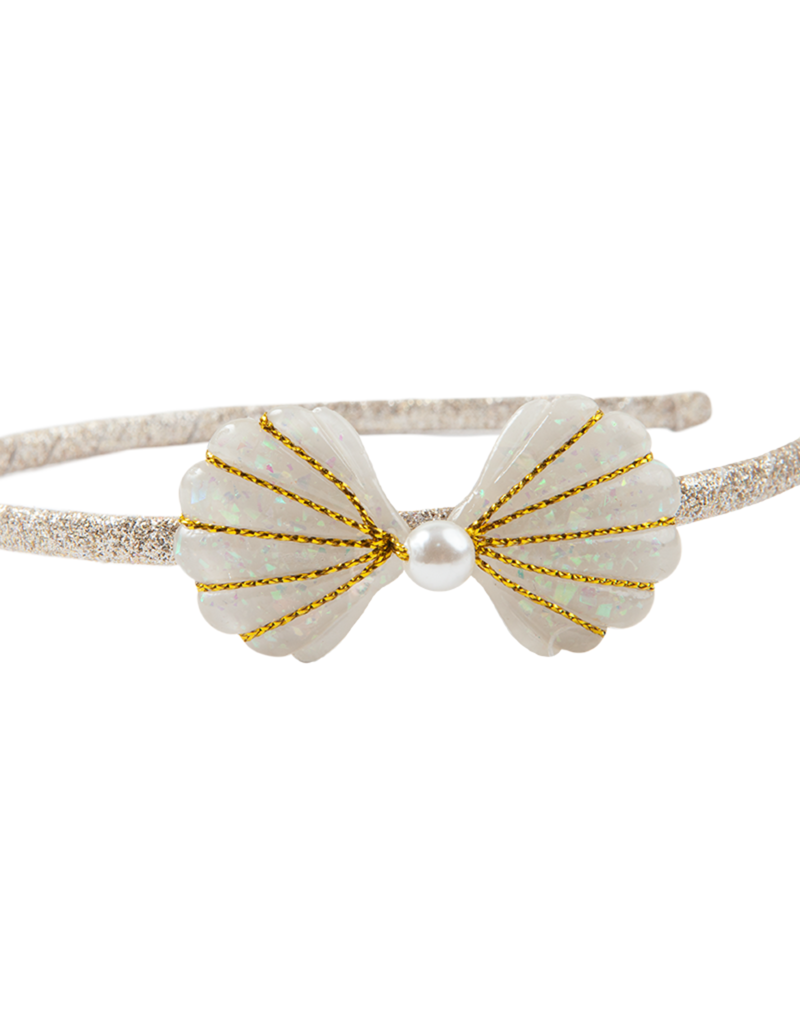 Great Pretenders Golden Mermaid Shell Headband