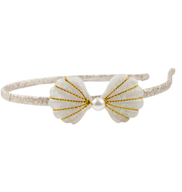 Great Pretenders Golden Mermaid Shell Headband