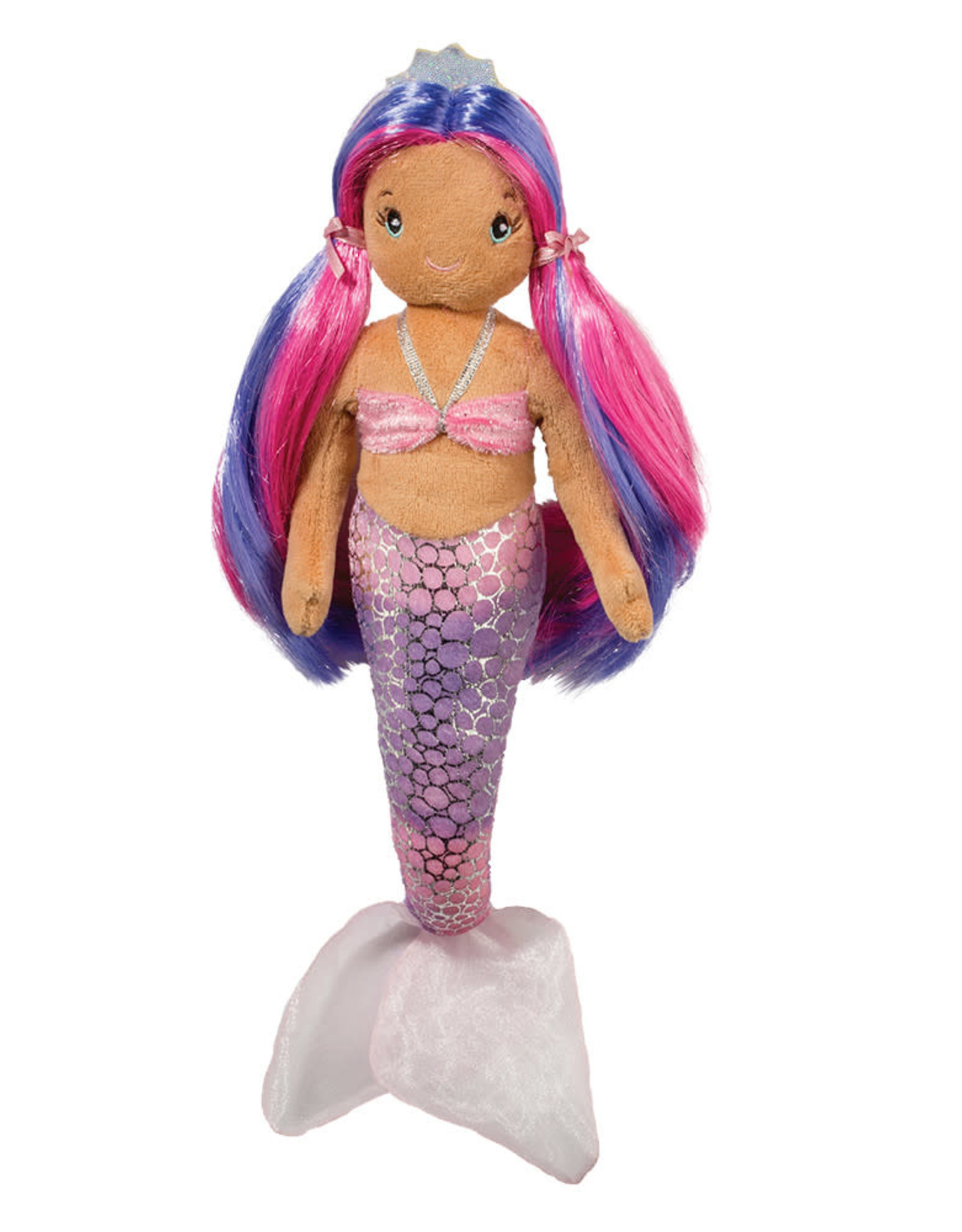 Douglas Nola Pink and Purple Mermaid