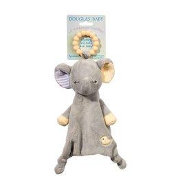 Douglas  Lil' Sshlumpie Gray Elephant Teether