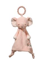 Douglas Lil' Sshlumpie Pink Elephant Teether