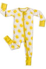 Little Sleepies Sunshine Convertible Romper/Sleeper