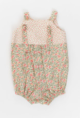 Thimble Collection Knotted Romper, Primrose