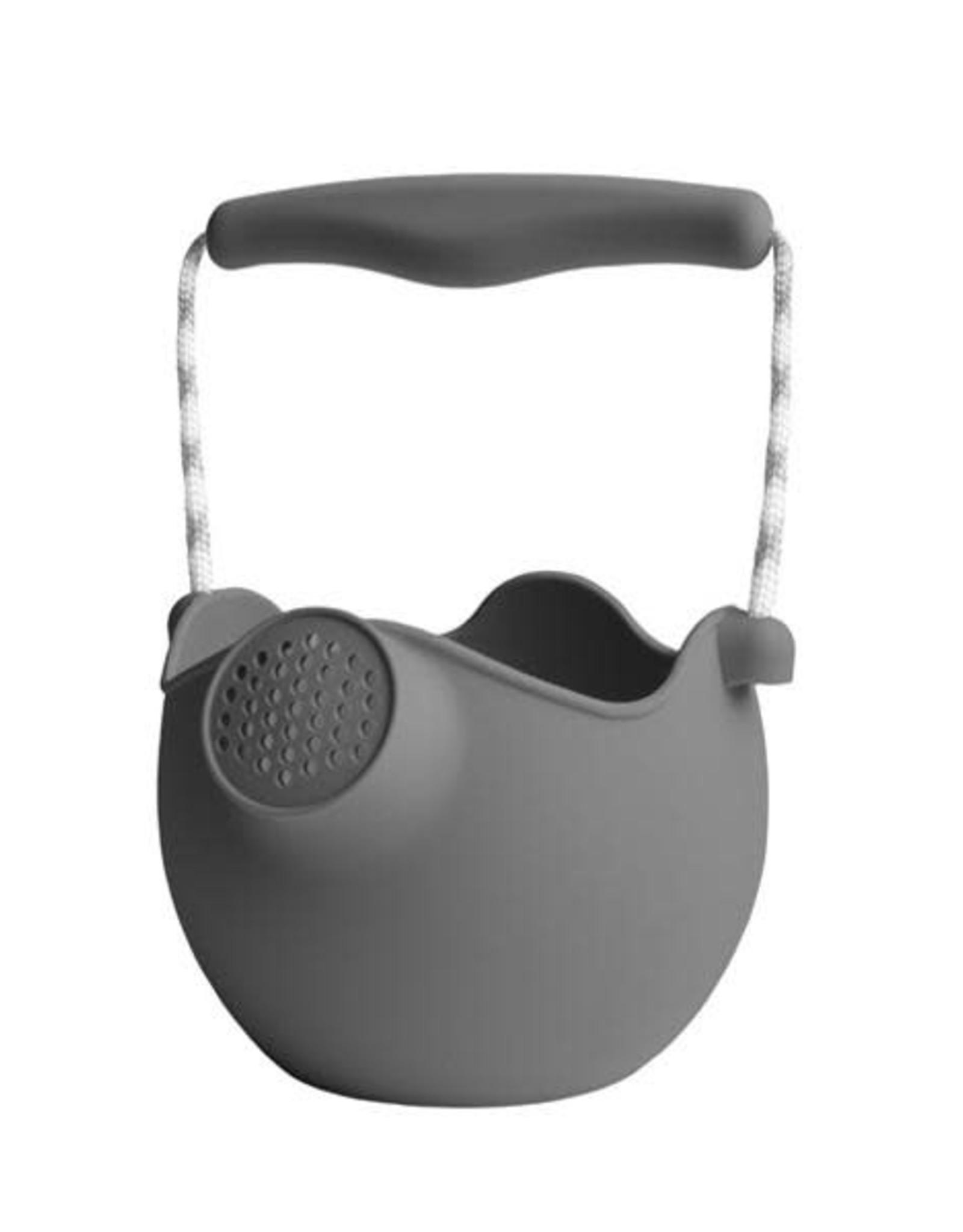 BIBS Scrunch Watering Can - Cool Grey