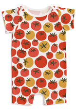 Winter Water Factory Summer Romper, Tomatoes