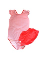 Blueberry Bay Blueberry Bay Seaford One Piece Swimsuit with Skirt