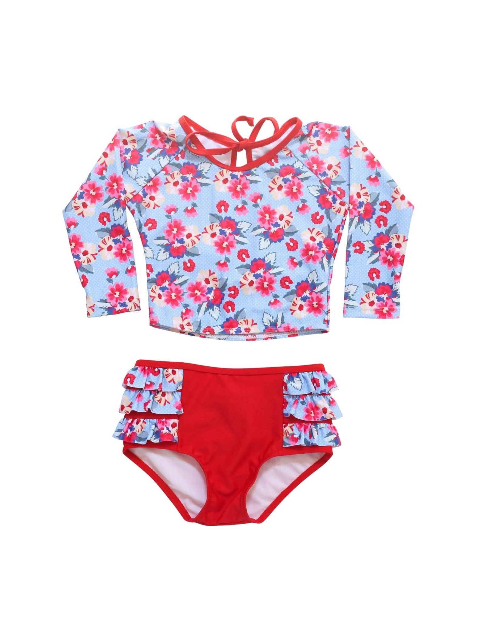 Blueberry Bay Blueberry Bay Reef Fiddler Two Piece Swimsuit