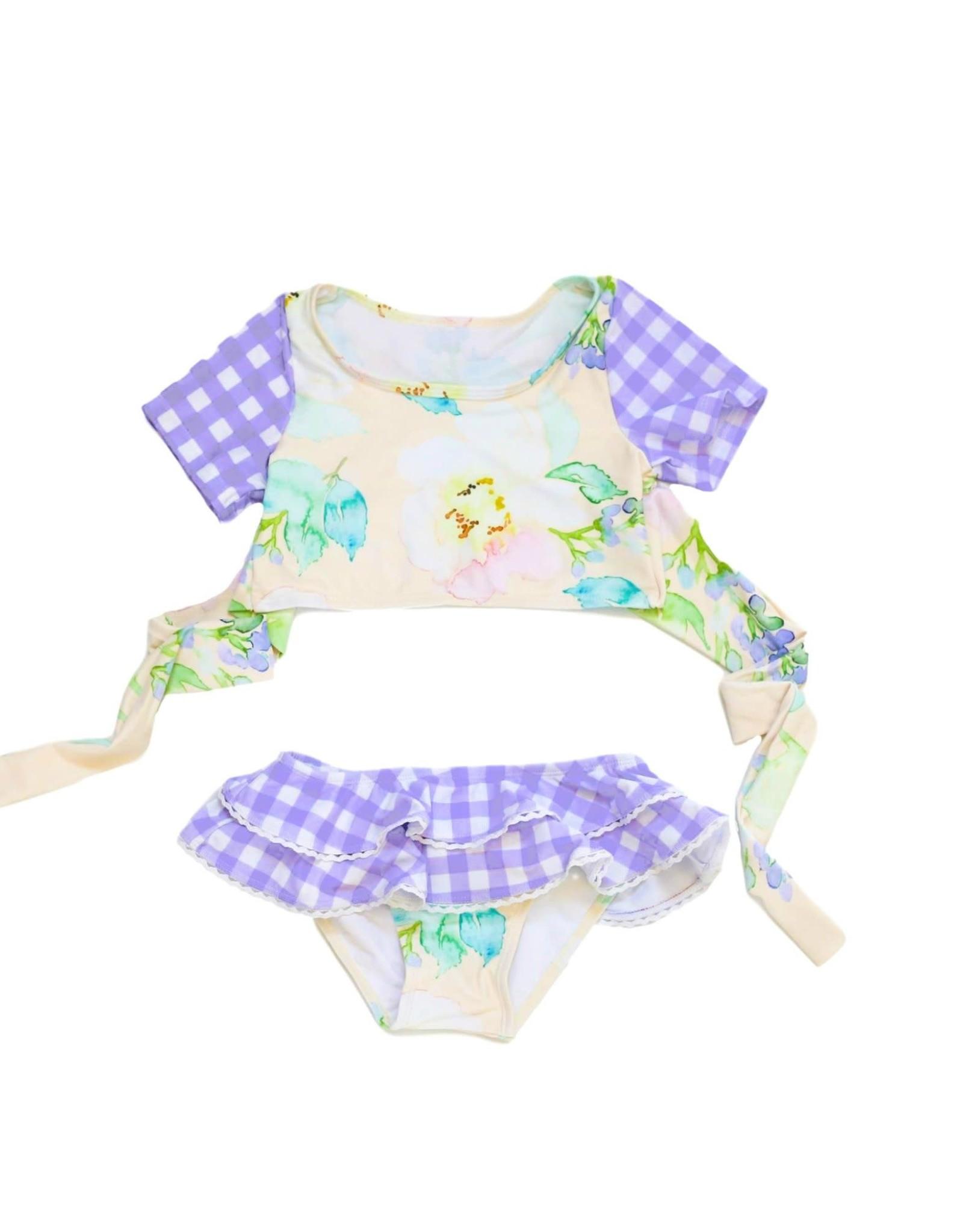 Blueberry Bay Shambhala Two Piece Swimsuit