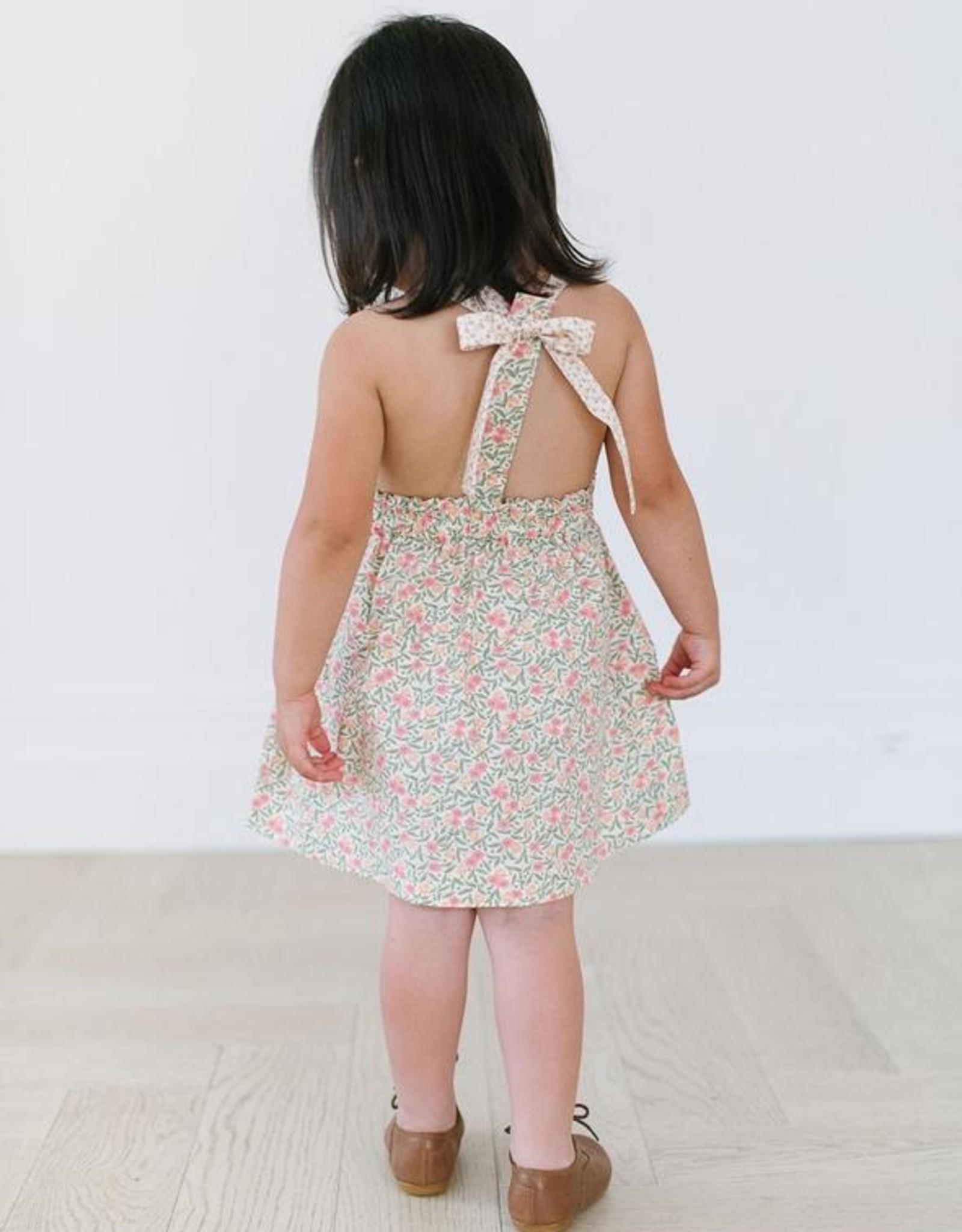 Thimble T-Back Dress, Primrose