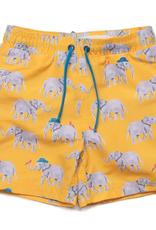 Egg Tristan Swim Trunks, Elephants