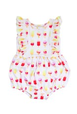 Be Girl Playsuit Bubble Romper, Popsicle