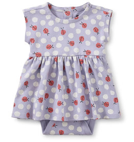 Tea Sweet Sightings Baby Dress, Ladybug