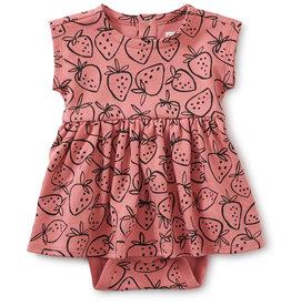 Tea Sweet Sightings Baby Dress, Strawberries