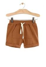 City Mouse Kangaroo Pocket Shorts, Toffee
