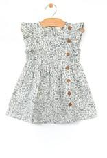 City Mouse Side Button Dress, Stillwater Garden