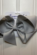 """Bows Arts Big Classic Bow 5"""" - Pewter"""