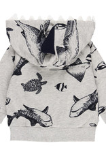 Boboli Under the Sea Hoodie with Removable Hood