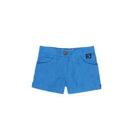 Boboli Blue Embroidered Shorts