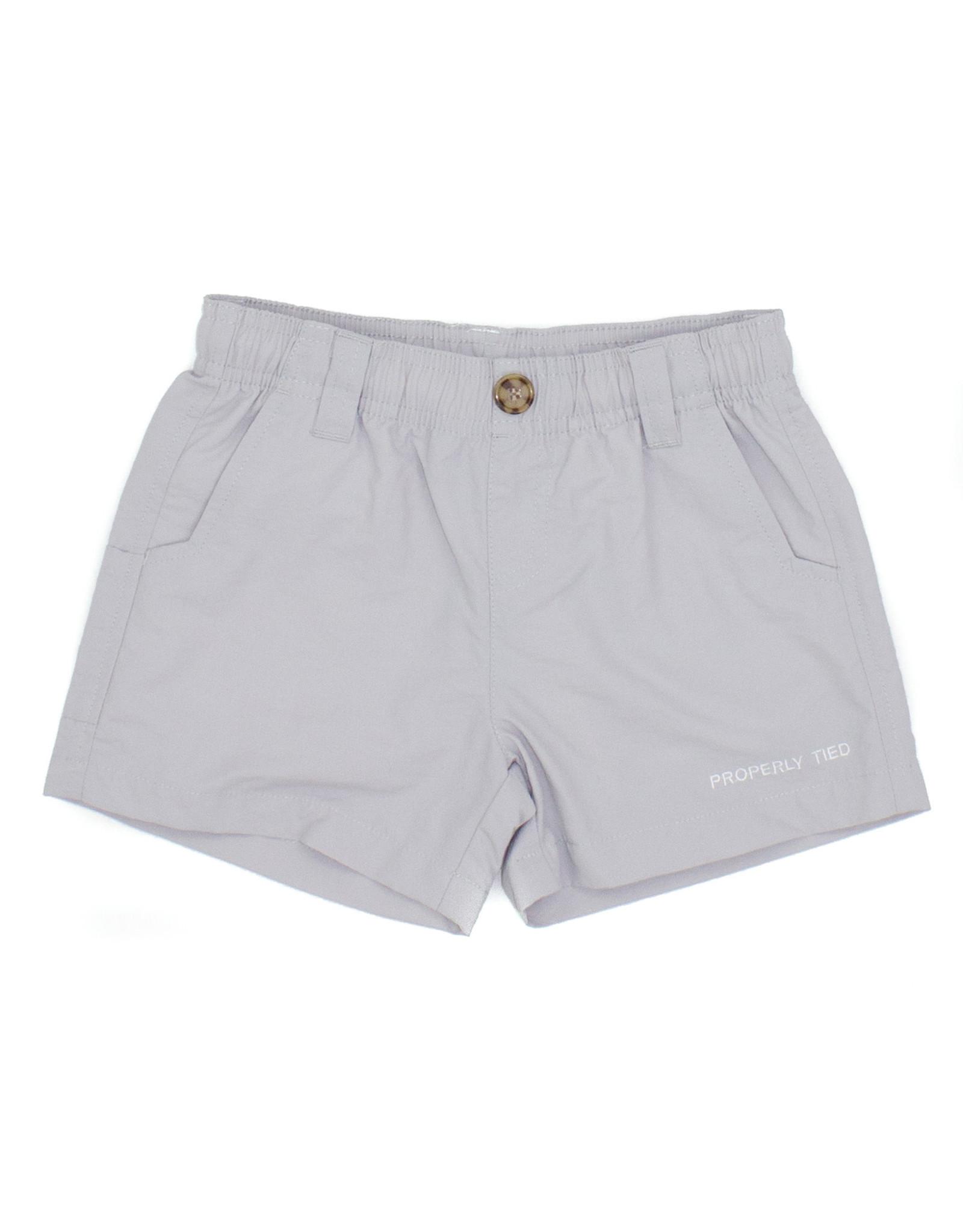 Properly Tied Mallard Shorts, Light Gray