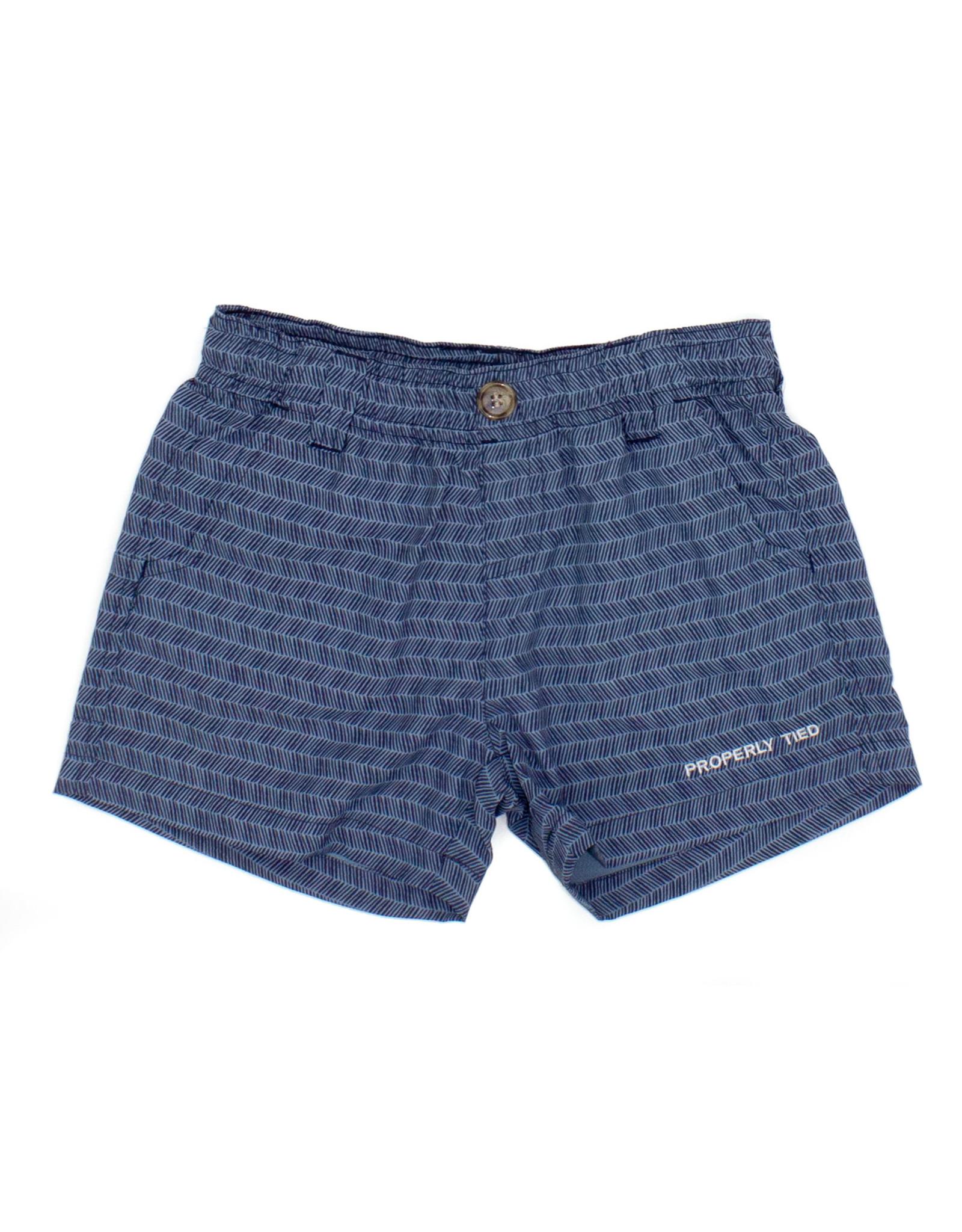 Properly Tied Mallard Shorts, Tiki